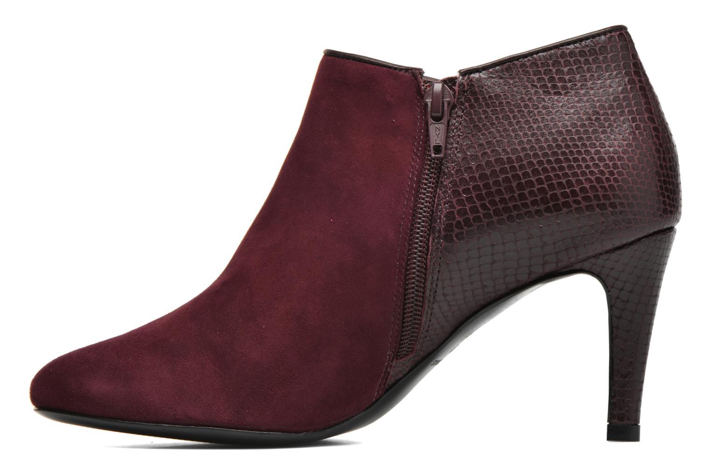 Bottines et boots COSMOPARIS Gaya/Bipyt Bordeaux vue face