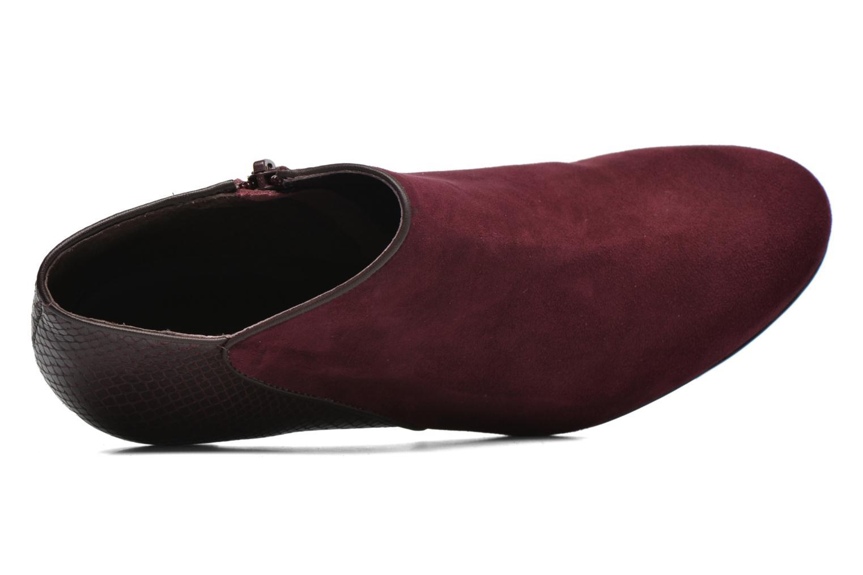 Bottines et boots COSMOPARIS Gaya/Bipyt Bordeaux vue gauche