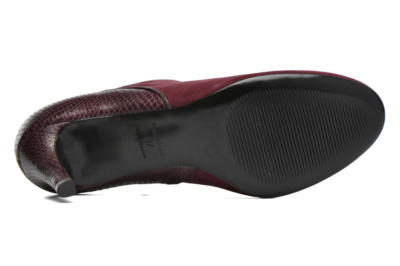 Bottines et boots COSMOPARIS Gaya/Bipyt Bordeaux vue haut