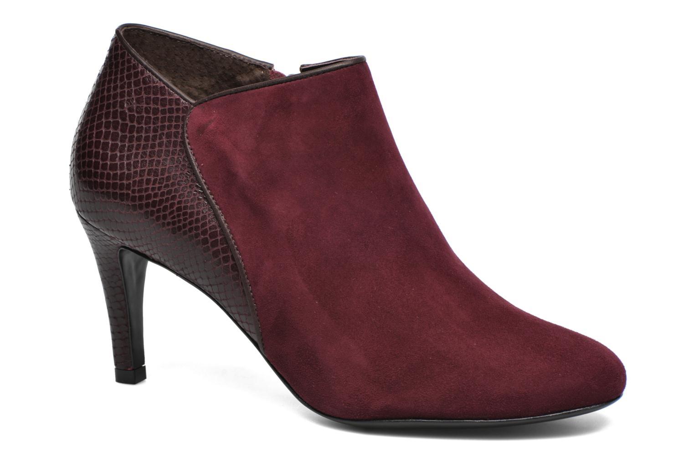 Bottines et boots COSMOPARIS Gaya/Bipyt Bordeaux vue détail/paire