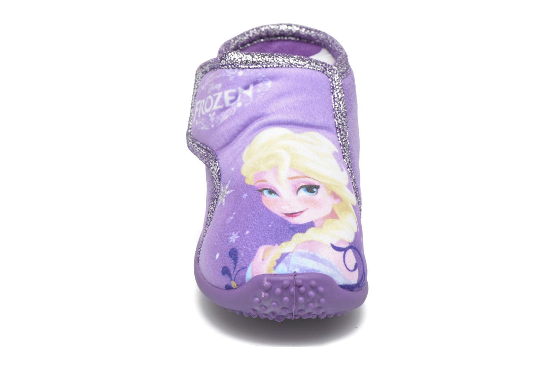 Chaussons Frozen Minora Frozen Violet vue portées chaussures