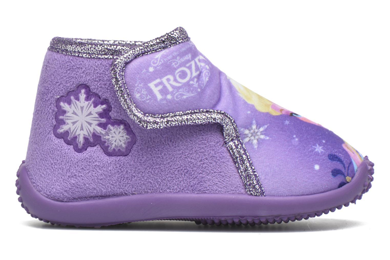 Chaussons Frozen Minora Frozen Violet vue derrière