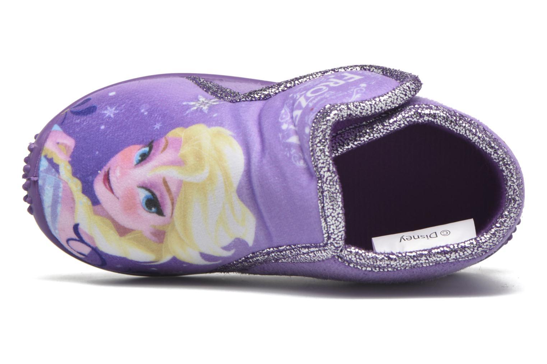 Chaussons Frozen Minora Frozen Violet vue gauche