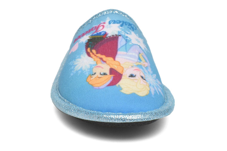 Pantuflas Frozen Safouan Frozen Azul vista del modelo