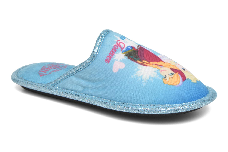 Pantuflas Frozen Safouan Frozen Azul vista de detalle / par