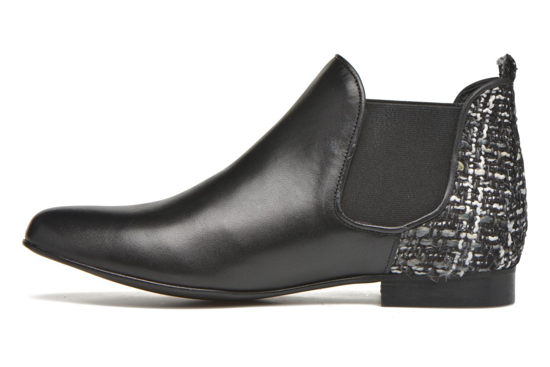 Asea Cuir noir + tweed