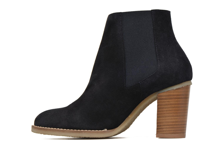 Bottines et boots Georgia Rose Atiag Bleu vue face