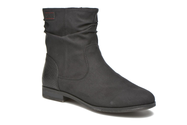 Bottines et boots S.Oliver Abana Noir vue détail/paire