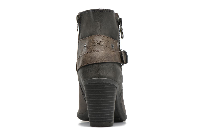 Bottines et boots S.Oliver Jada Gris vue droite