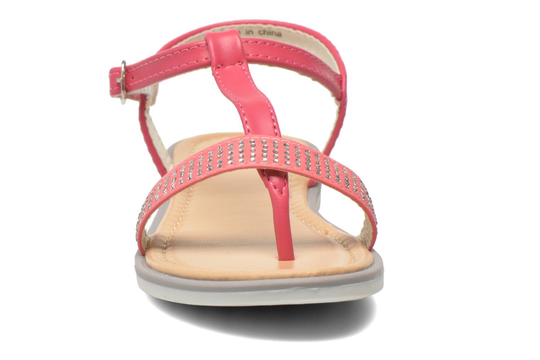 Sandales et nu-pieds NA! Fourmi Rose vue portées chaussures