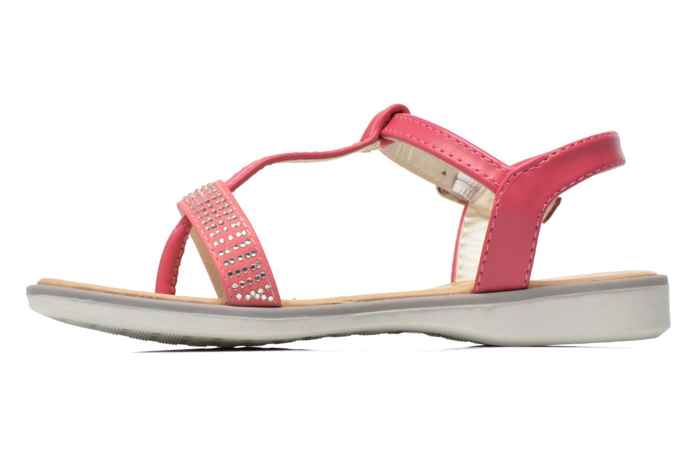 Sandales et nu-pieds NA! Fourmi Rose vue face