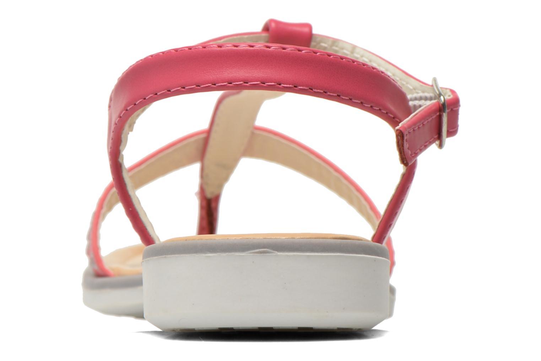 Sandales et nu-pieds NA! Fourmi Rose vue droite