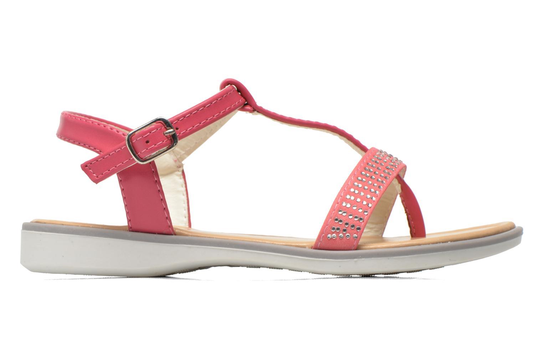 Sandales et nu-pieds NA! Fourmi Rose vue derrière