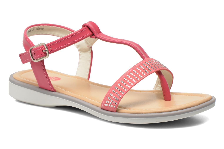 Sandales et nu-pieds NA! Fourmi Rose vue détail/paire
