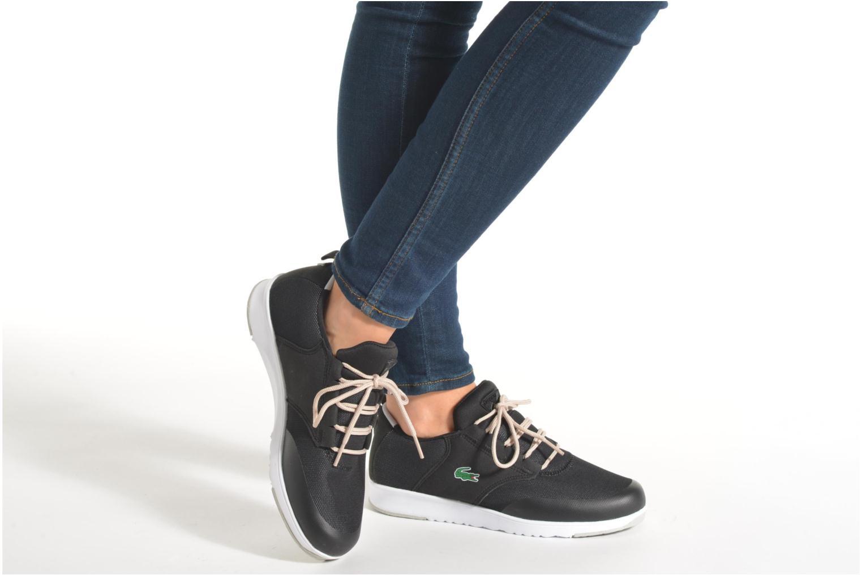 Sneaker Lacoste L.Ight R 316 1 W blau ansicht von unten / tasche getragen