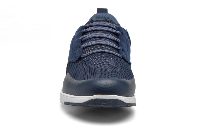 Sneaker Lacoste L.Ight R 316 1 W blau schuhe getragen