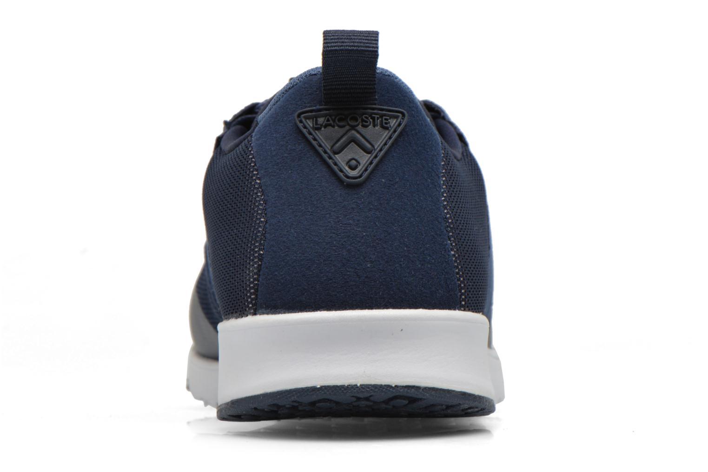 Sneaker Lacoste L.Ight R 316 1 W blau ansicht von rechts