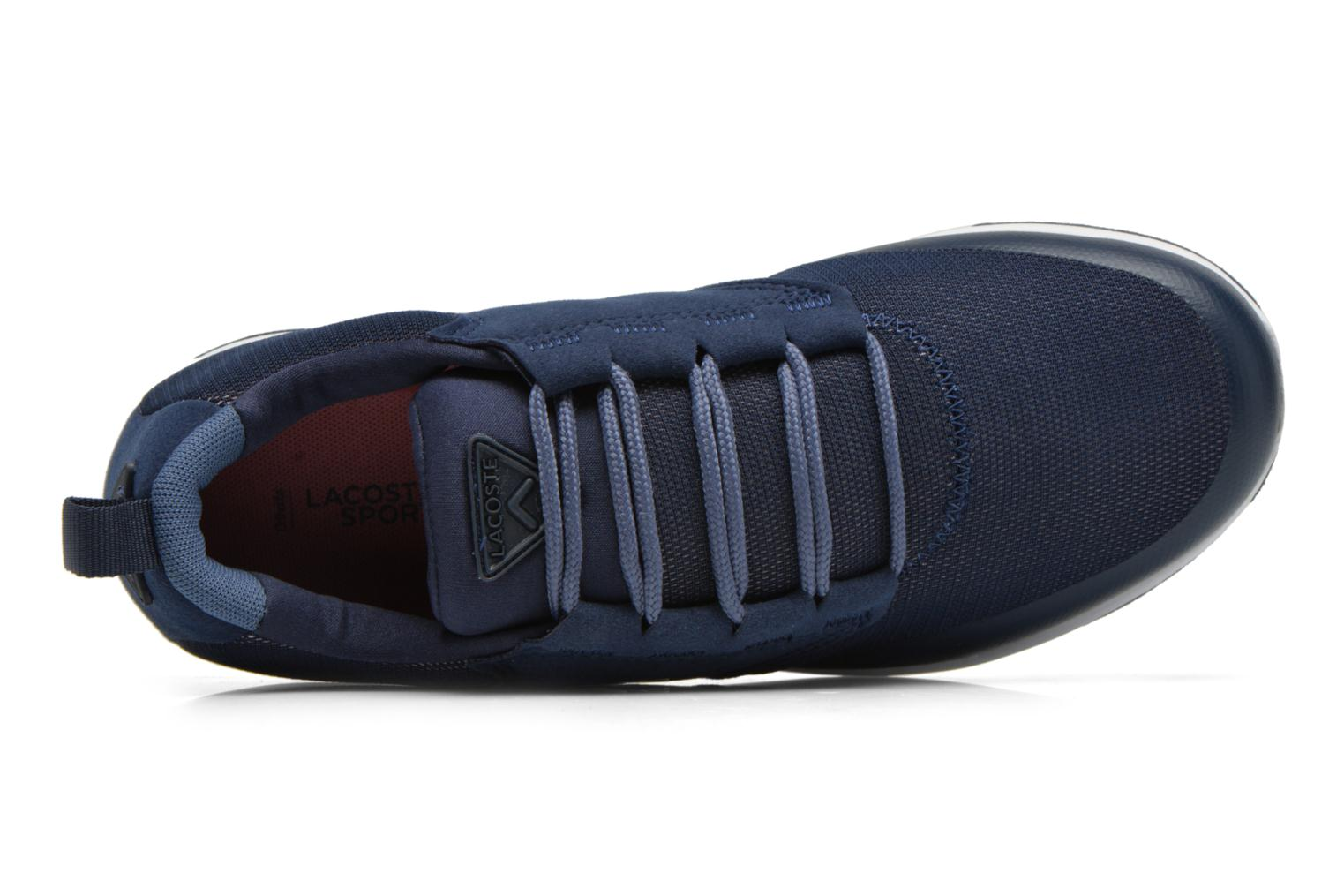 Trainers Lacoste L.Ight R 316 1 W Blue view from the left