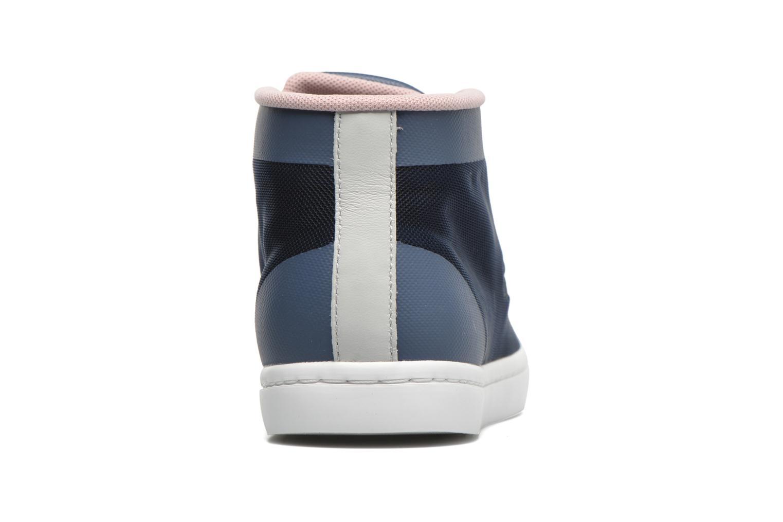 Sneaker Lacoste Straightset Chukka 316 2 blau ansicht von rechts