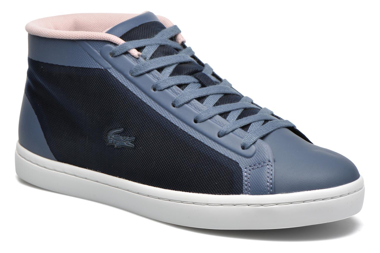 Baskets Lacoste Straightset Chukka 316 2 Bleu vue détail/paire