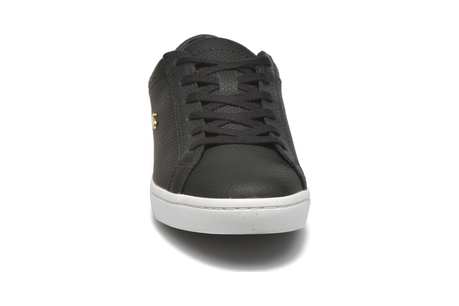 Trainers Lacoste Straightset 316 3 Black model view