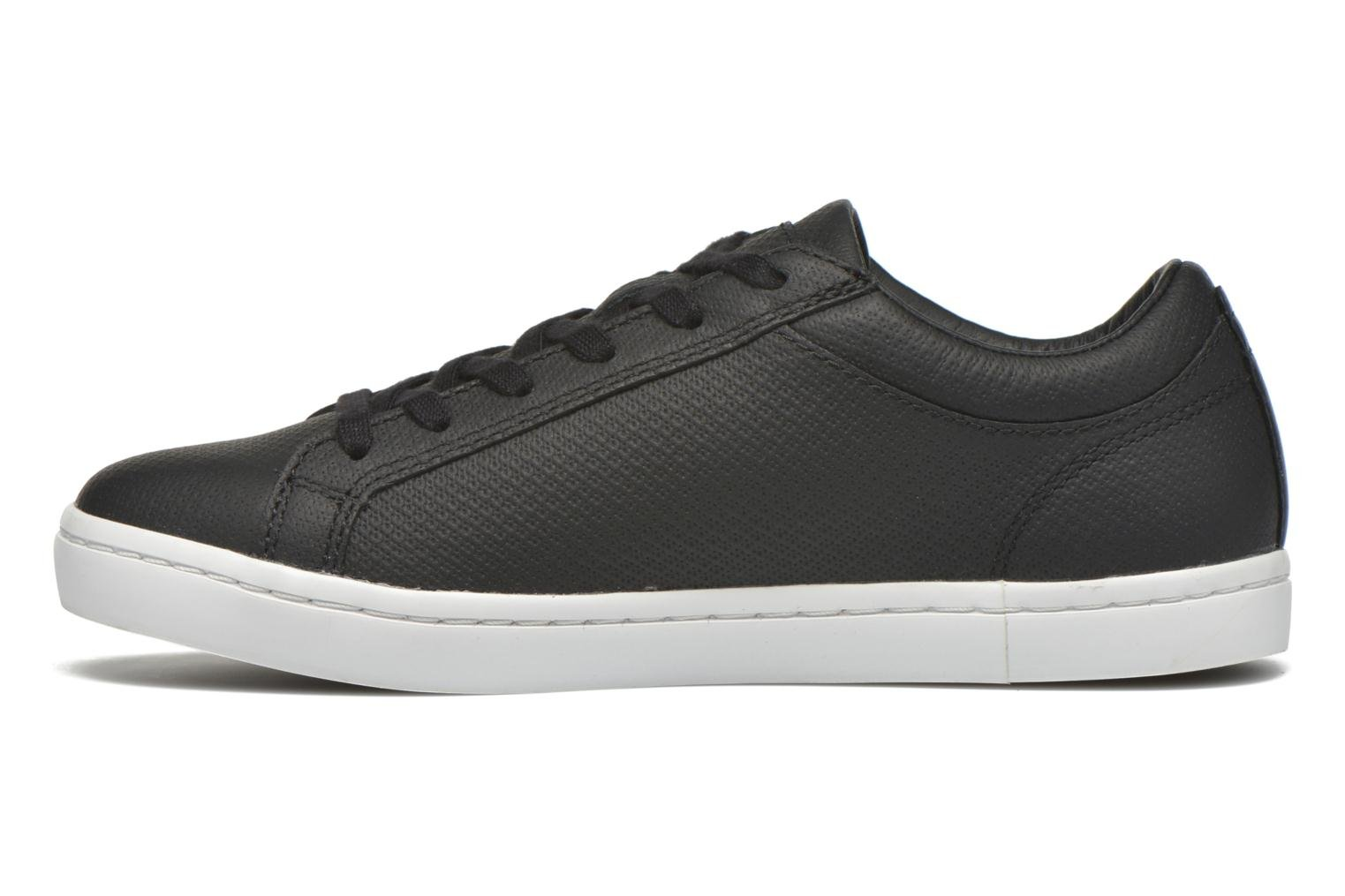 Trainers Lacoste Straightset 316 3 Black front view