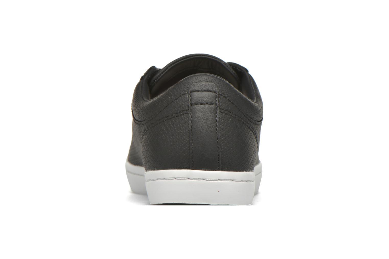 Baskets Lacoste Straightset 316 3 Noir vue droite