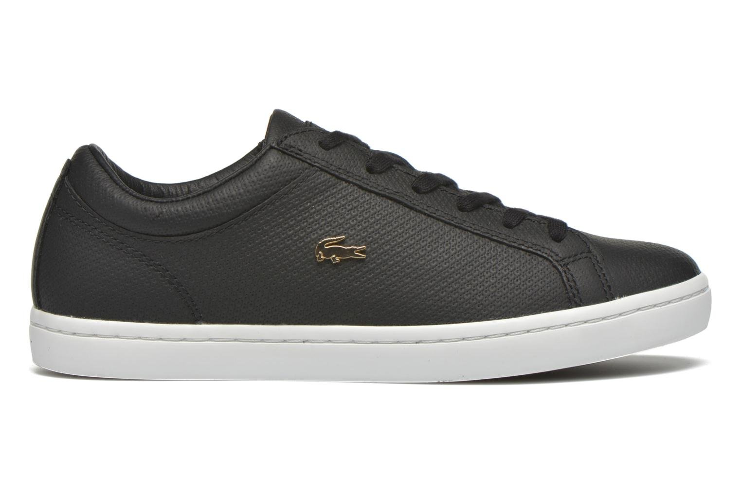 Trainers Lacoste Straightset 316 3 Black back view