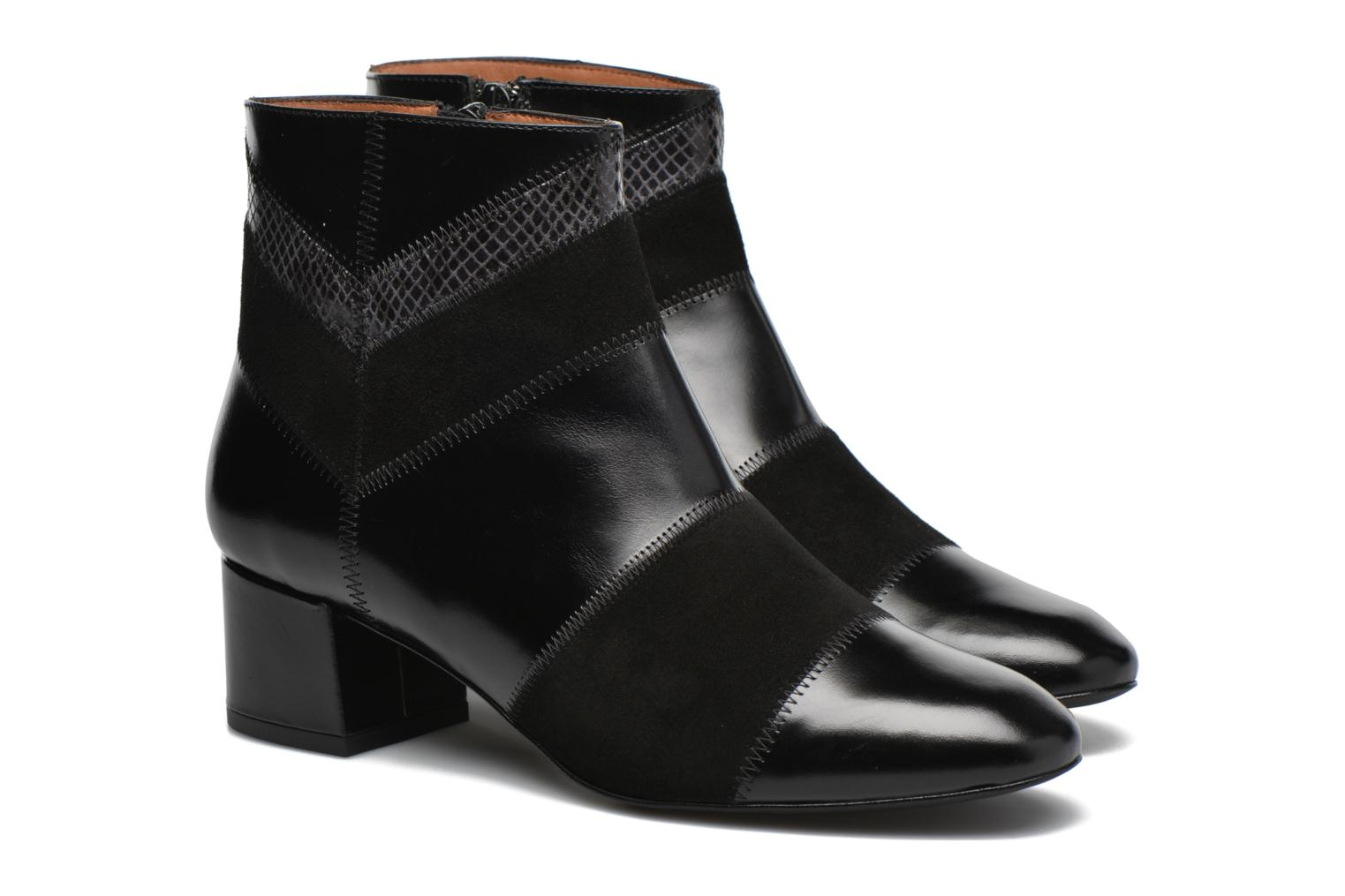 Ankle boots Made by SARENZA See Ya Topanga #1 Black back view