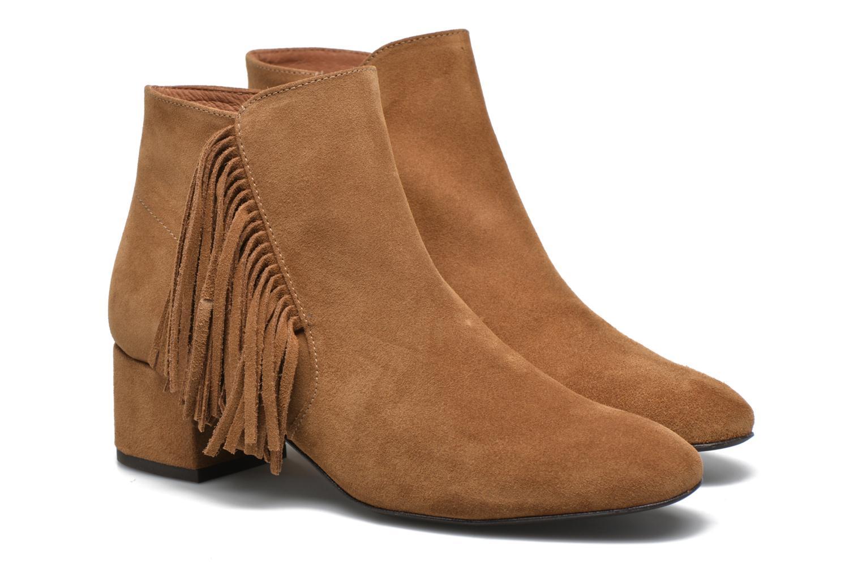 Bottines et boots Made by SARENZA See Ya Topanga #9 Marron vue derrière