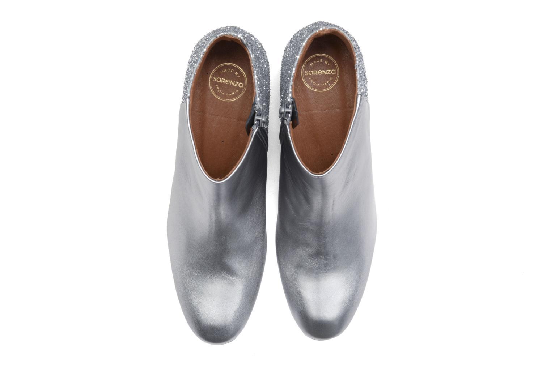 Bottines et boots Made by SARENZA Glamatomic #8 Argent vue portées chaussures