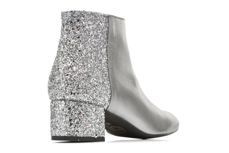 Bottines et boots Made by SARENZA Glamatomic #8 Argent vue face