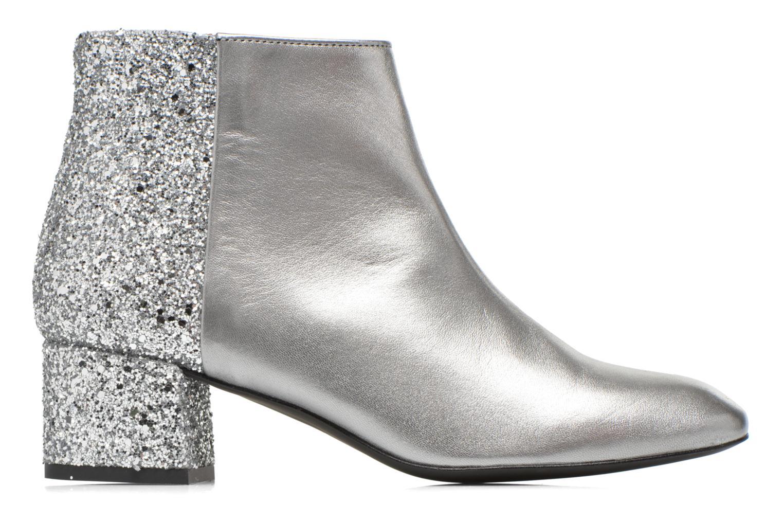Bottines et boots Made by SARENZA Glamatomic #8 Argent vue détail/paire