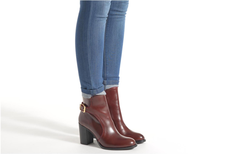 Bottines et boots Made by SARENZA See Ya Topanga #4 Noir vue bas / vue portée sac