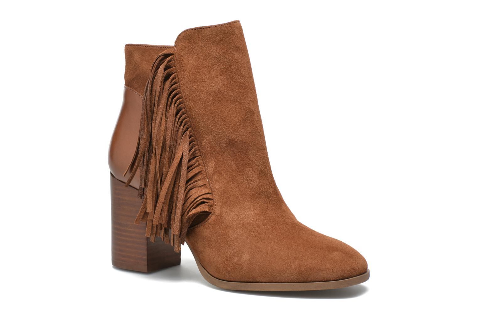 Ankle boots Made by SARENZA See Ya Topanga #8 Brown view from the right