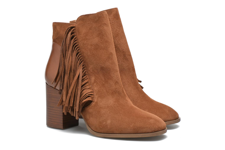 Bottines et boots Made by SARENZA See Ya Topanga #8 Marron vue derrière