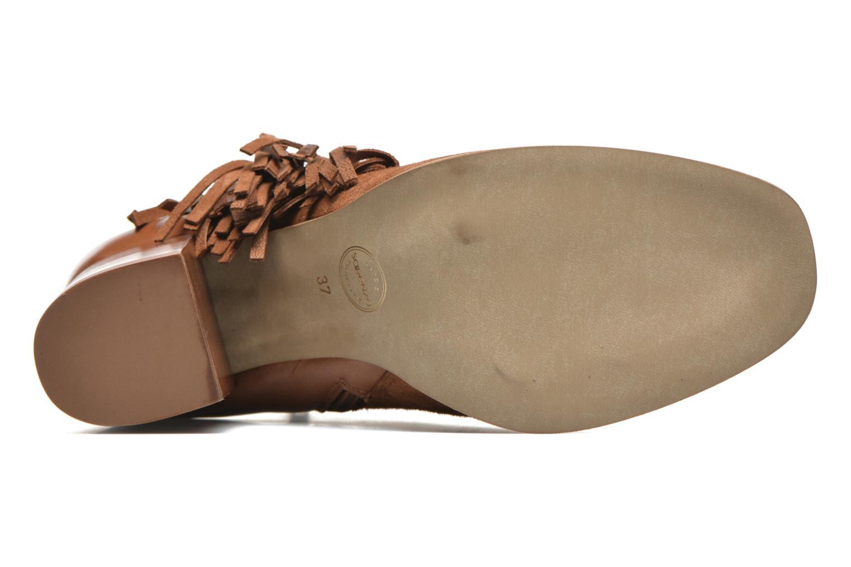 Bottines et boots Made by SARENZA See Ya Topanga #8 Marron vue haut