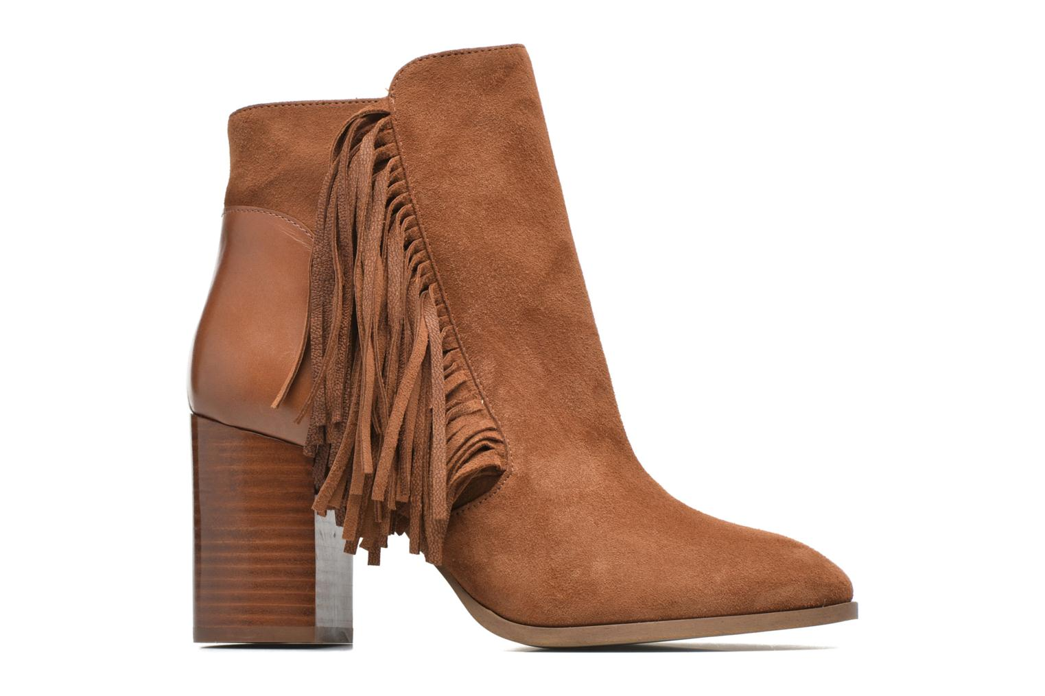 Ankle boots Made by SARENZA See Ya Topanga #8 Brown detailed view/ Pair view
