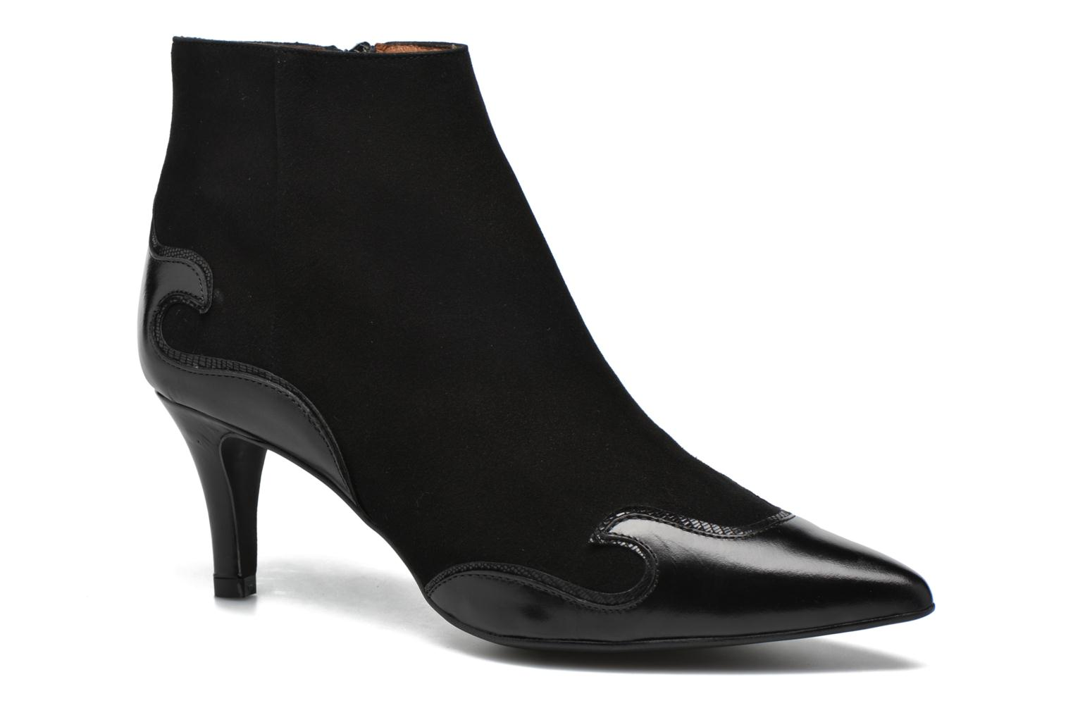 Ankle boots Made by SARENZA Glamatomic #4 Black view from the right