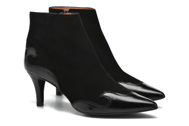 Bottines et boots Made by SARENZA Glamatomic #4 Noir vue derrière