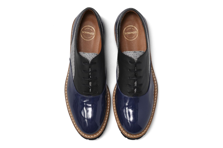 Zapatos con cordones Made by SARENZA West Mister # 16 Azul vista del modelo