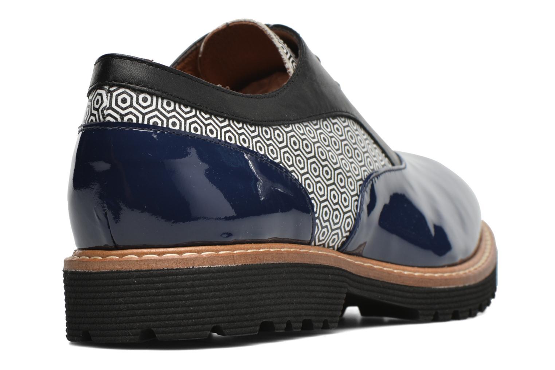 Schnürschuhe Made by SARENZA West Mister # 16 blau ansicht von vorne