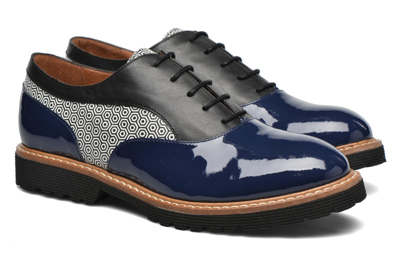 Zapatos con cordones Made by SARENZA West Mister # 16 Azul vistra trasera