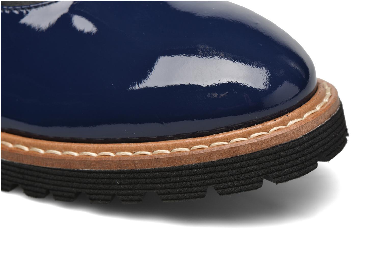 Schnürschuhe Made by SARENZA West Mister # 16 blau ansicht von links