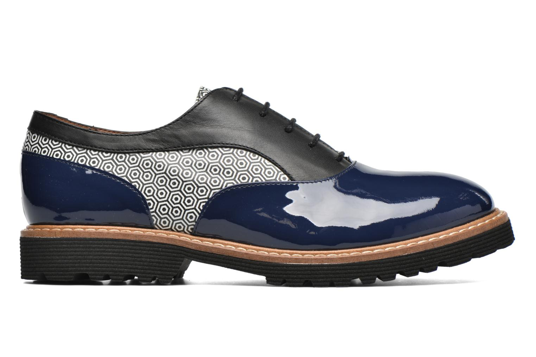 Zapatos con cordones Made by SARENZA West Mister # 16 Azul vista de detalle / par
