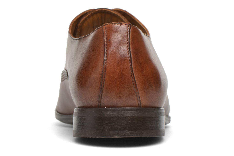 Zapatos con cordones Marvin&Co Newry Marrón vista lateral derecha