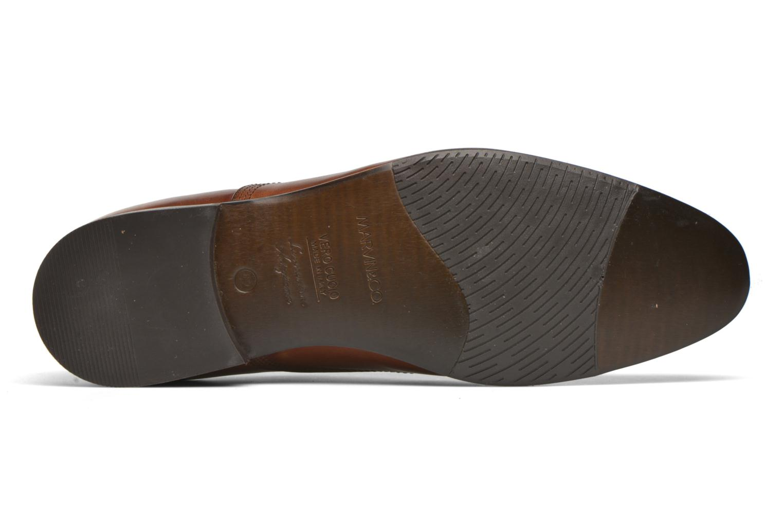 Schnürschuhe Marvin&Co Newry braun ansicht von oben