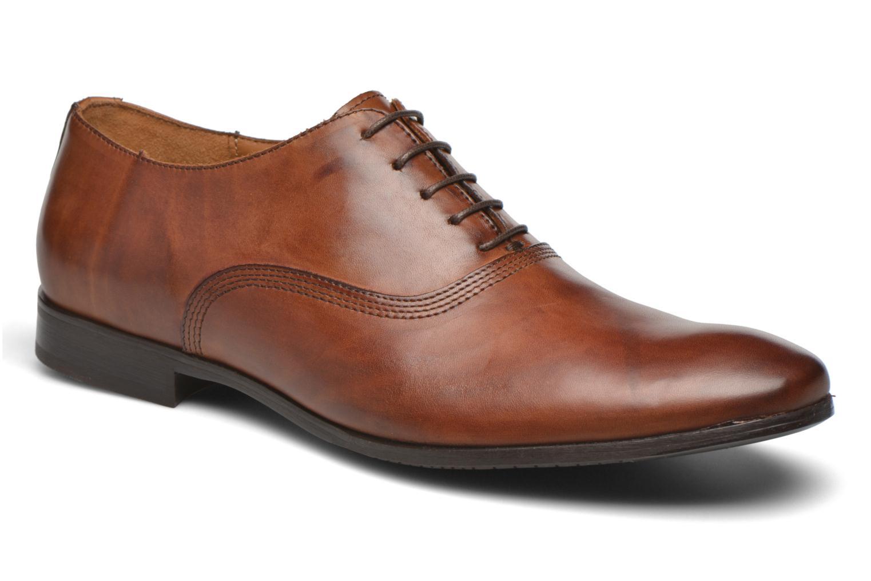 Schnürschuhe Marvin&Co Newry braun detaillierte ansicht/modell