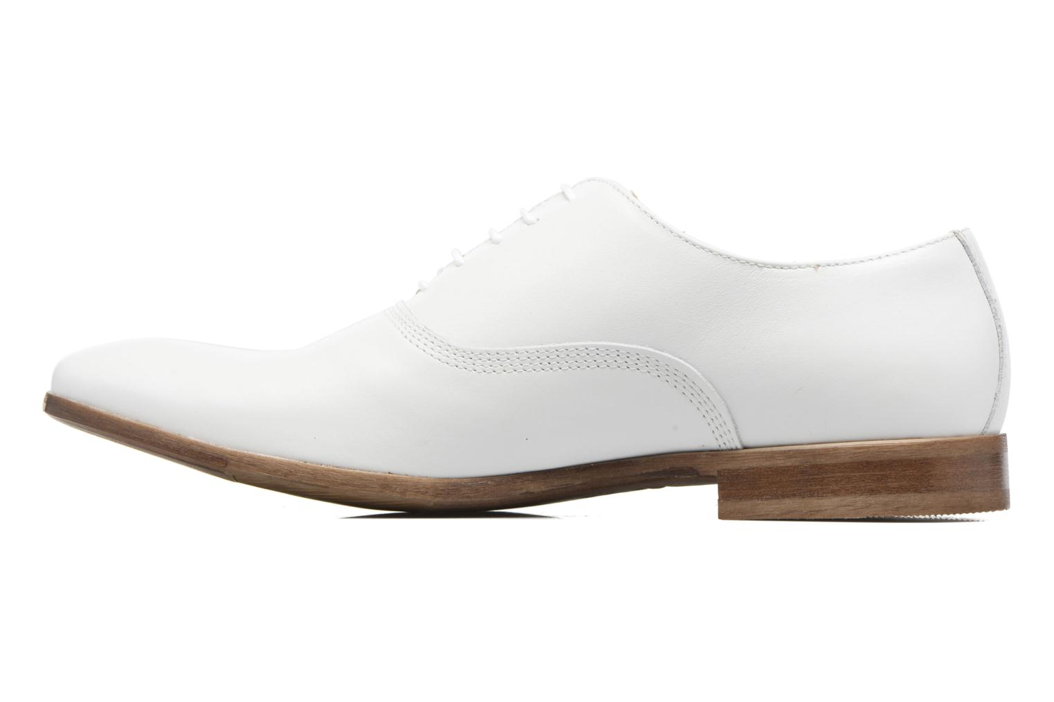 Chaussures à lacets Marvin&Co Newry Blanc vue face