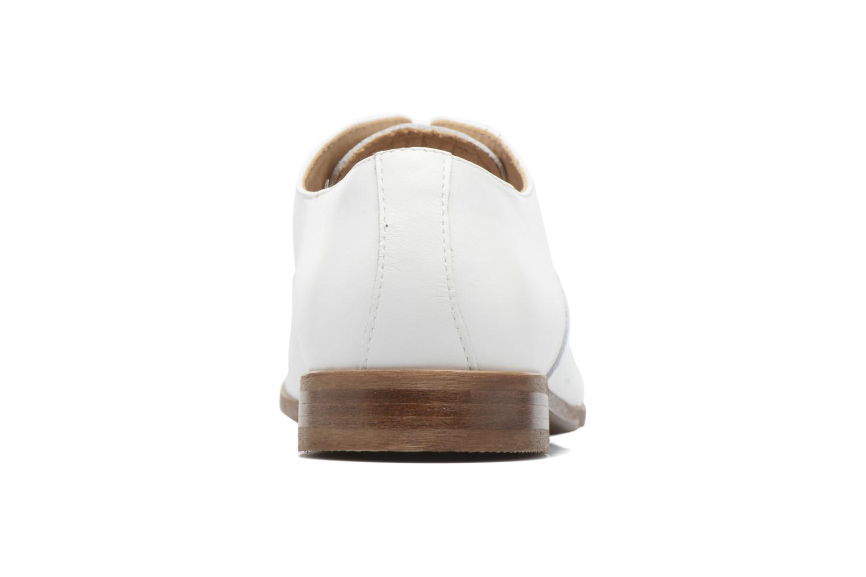 Schnürschuhe Marvin&Co Newry weiß ansicht von rechts
